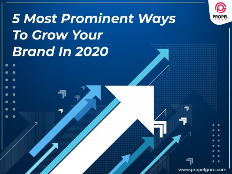 5 Most Prominent Ways To Grow Your Brand In 2020