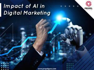 Impact of AI in Digital Marketing