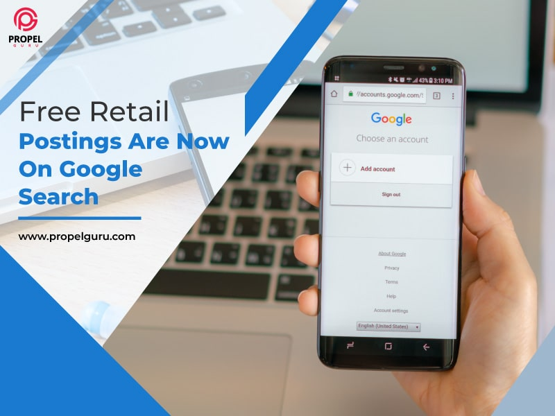 Free Retail Postings Are Now On Google Search