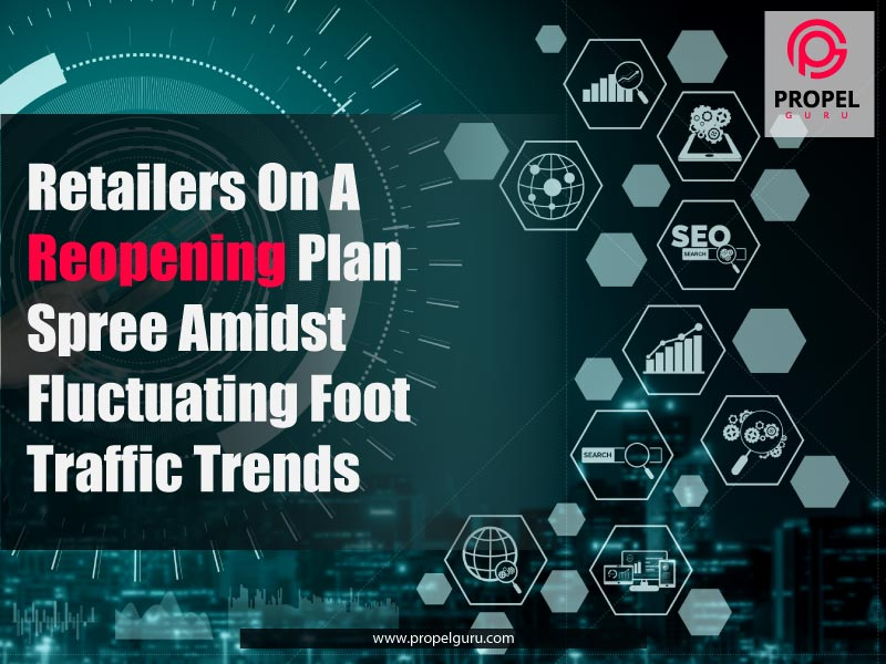 Retailers On A Reopening Plan Spree Amidst Fluctuating Foot Traffic Trends
