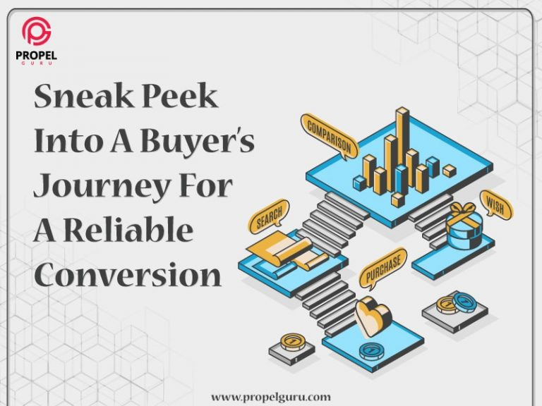 Sneak Peek Into A Buyer's Journey For A Reliable Conversion