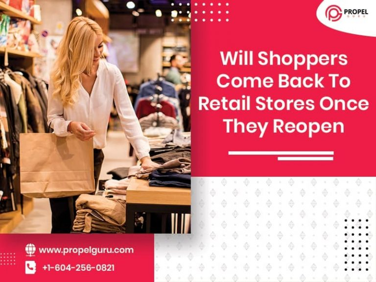 Will Shoppers Come Back To Retail Stores Once They Reopen?