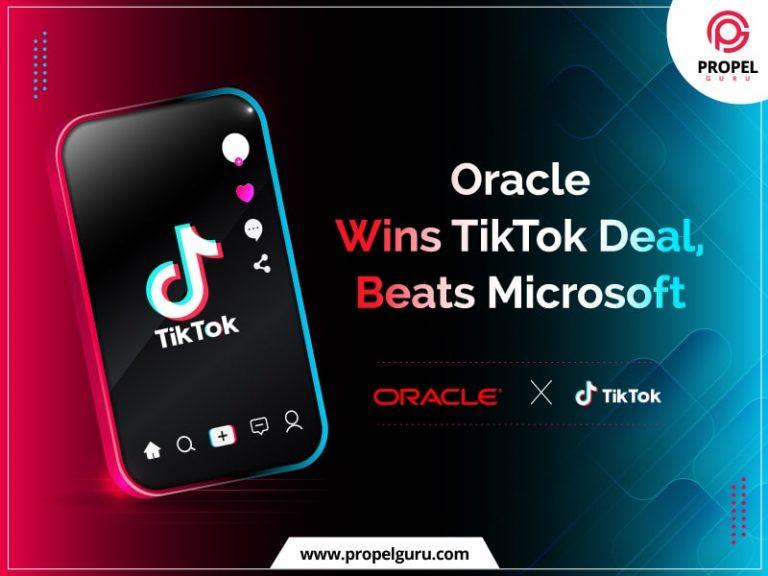 Oracle Wins TikTok Deal, Beats Microsoft