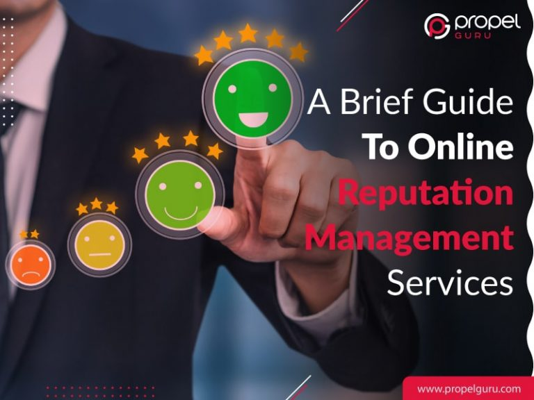A Brief Guide To Online Reputation Management Services