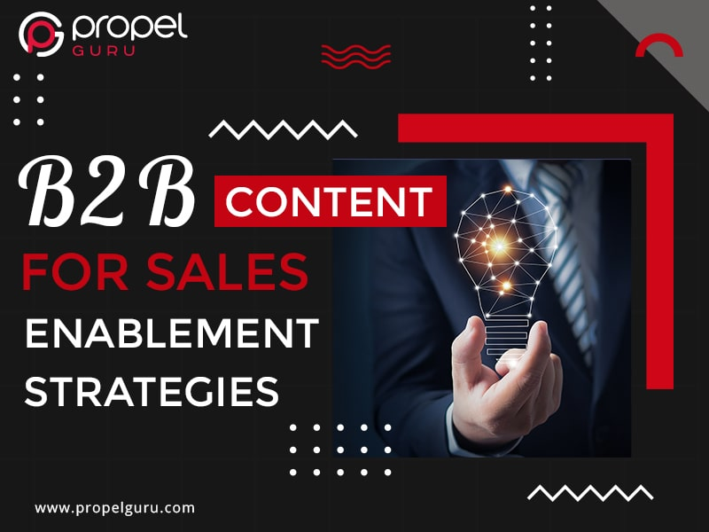 B2B Content For Sales Enablement Strategies